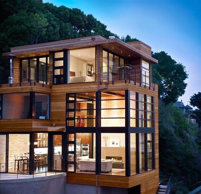 Các mẫu nhà khung thép 3 tầng đẹp nhất hiện nay