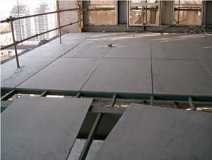 Ứng dụng lam sàn tấm bê tông nhẹ