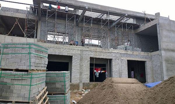 Gạch không nung siêu nhẹ được sử dụng nhiều nhất cho công trình lớn