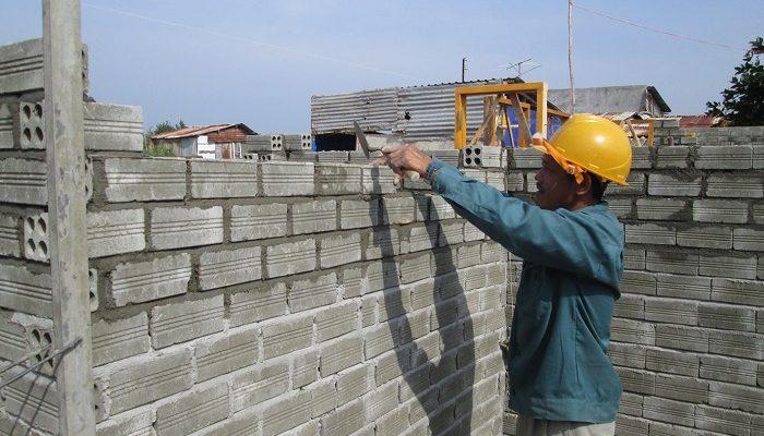 Gạch không nung được dùng cho các công trình dân dụng