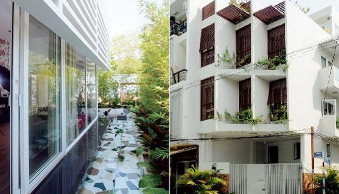 Những ngôi nhà hay tường chung cư hướng Tây hấp thụ nhiệt rất cao, làm cho không gian sống thường trở nên nóng bức