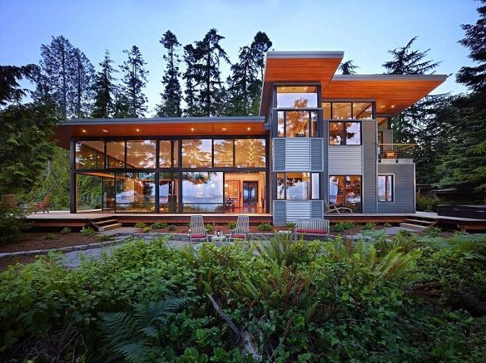 Làm nhà phố khung thép là một sự lựa chọn hoàn hảo