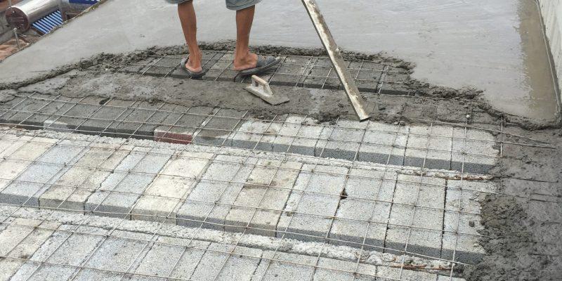 So sánh sàn bê tông nhẹ và sàn cốt thép truyền thống