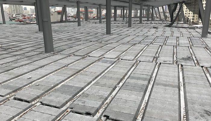Sàn Panel có sức chịu tải rất tốt, phù hợp với các công trình xây dựng