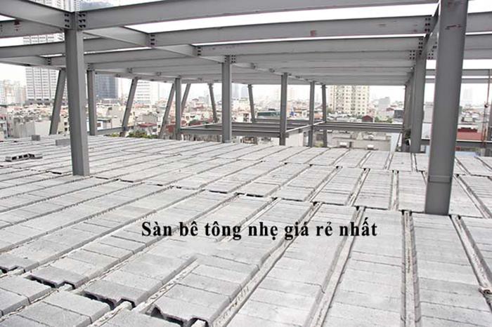 Tấm sàn bê tông siêu nhẹ