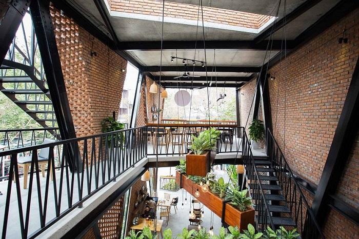 Thiết kế không gian nhà hàng sáng tạo