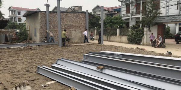 Xây nhà khung thép tại Hà Nội